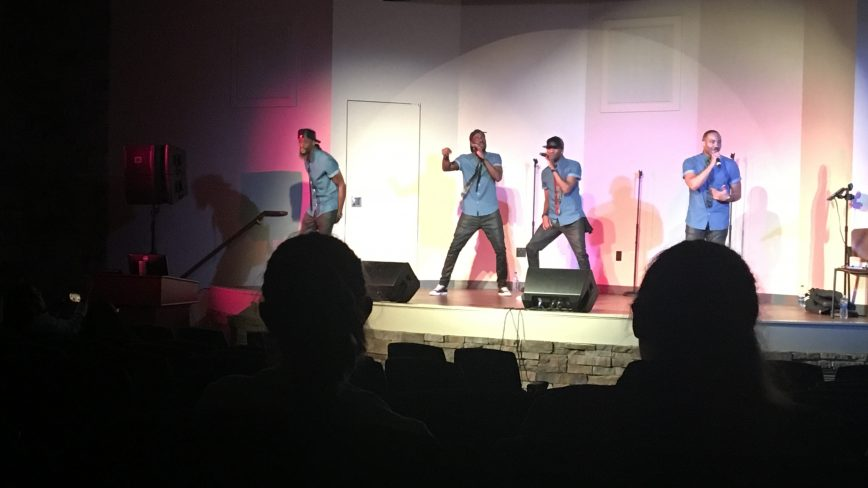 Kazual performs at Scranton University